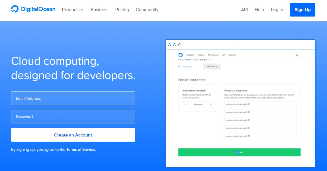 DigitalOcean-cloud-hosting