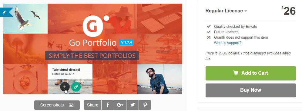 Go Portfolio - WordPress Portfolio Plugin