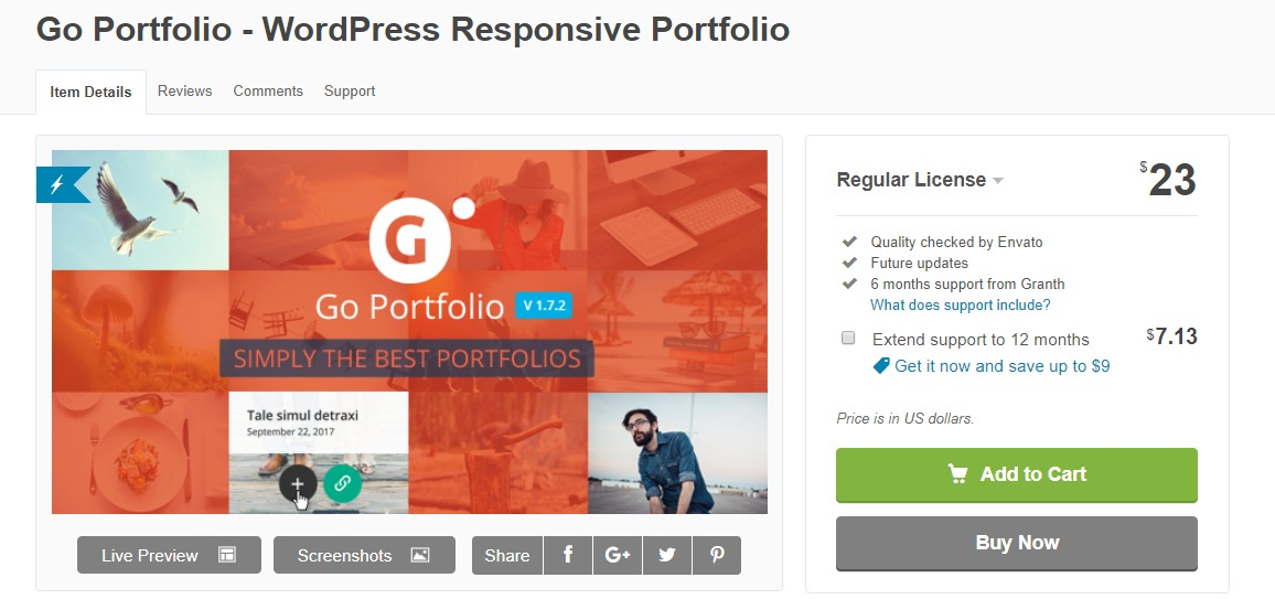 Go-portfolio-wordpress-portfolio-plugin