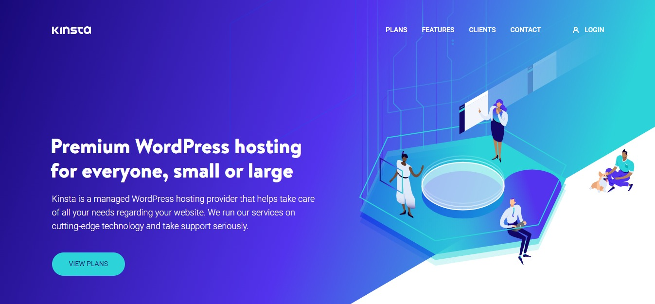 Kinsta - Cloud WordPress Hosting