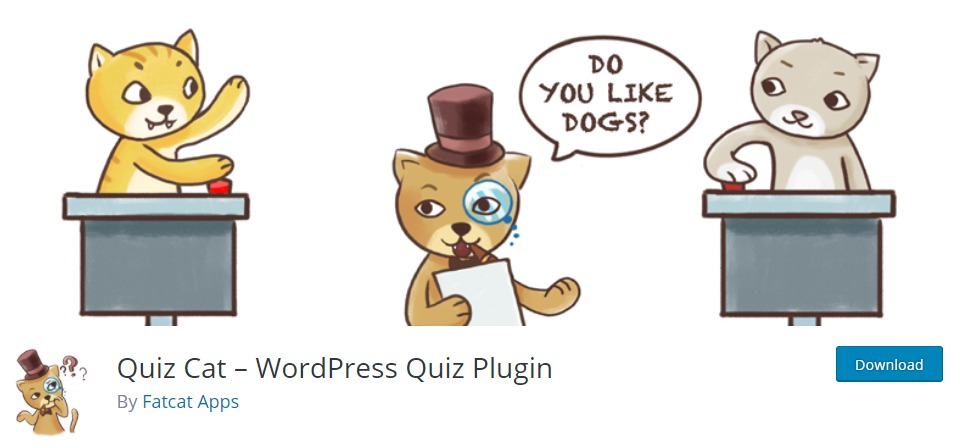 Quiz Cat – WordPress-Quiz-Plugin- WordPress Plugins
