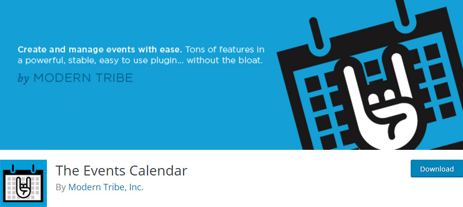 The-Events-Calendar-best-wp-calendar-plugin