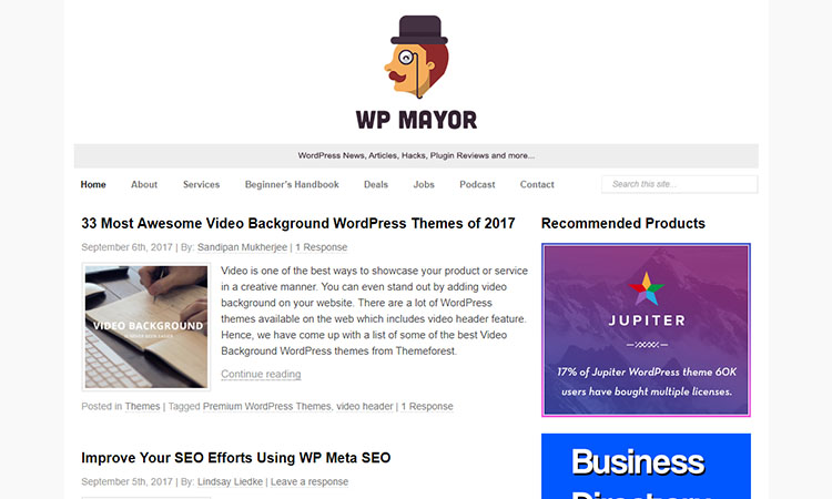 WP-Mayor-wordpress-blog