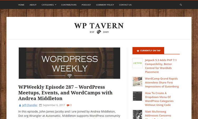 WordPress-Tavern-WordPress-News