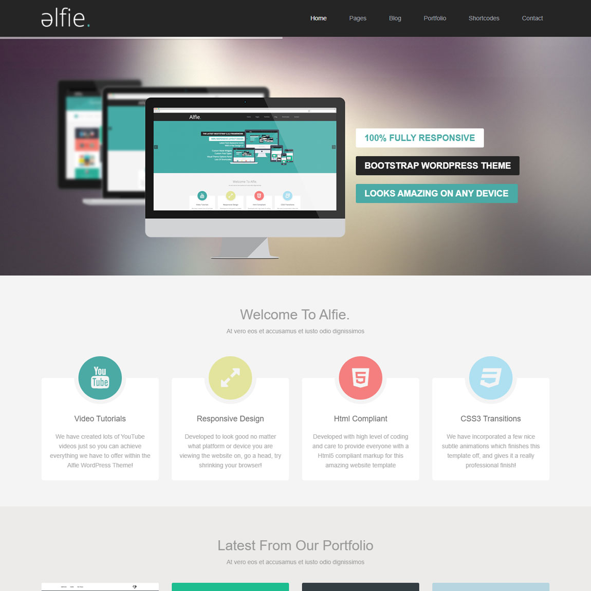 alfie-wordpress-bootstrap-theme