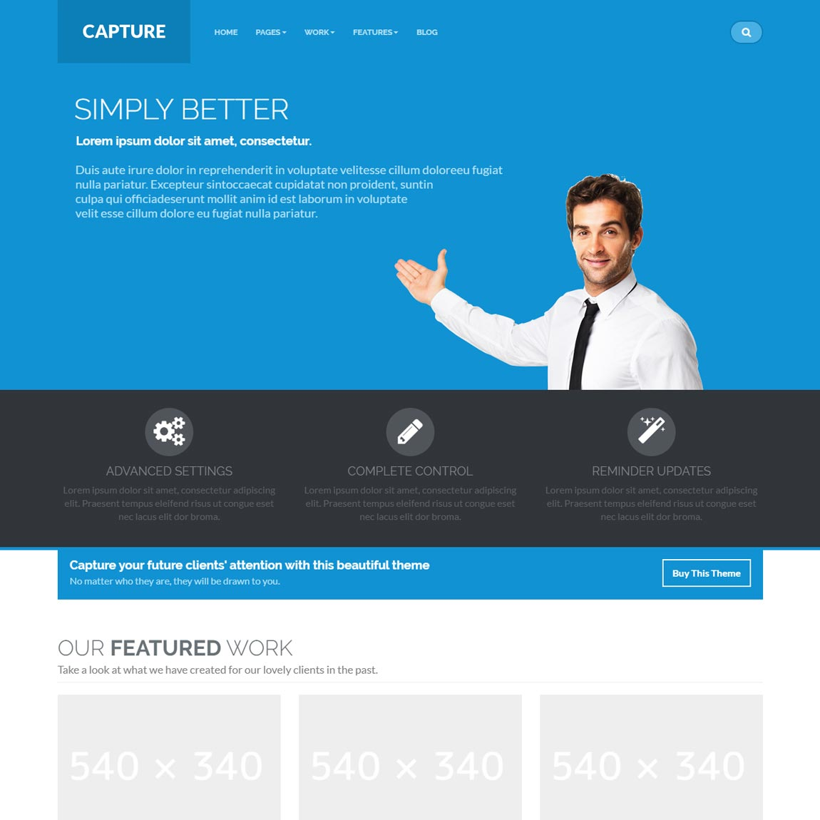 capture-bootstrap-wordpress-theme