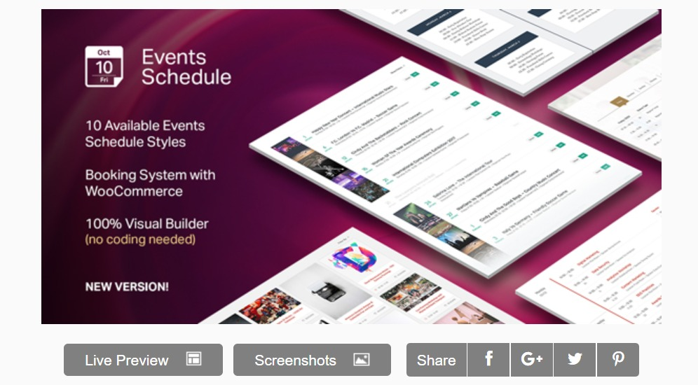 evenement-schema-wordpress-kalender-widget