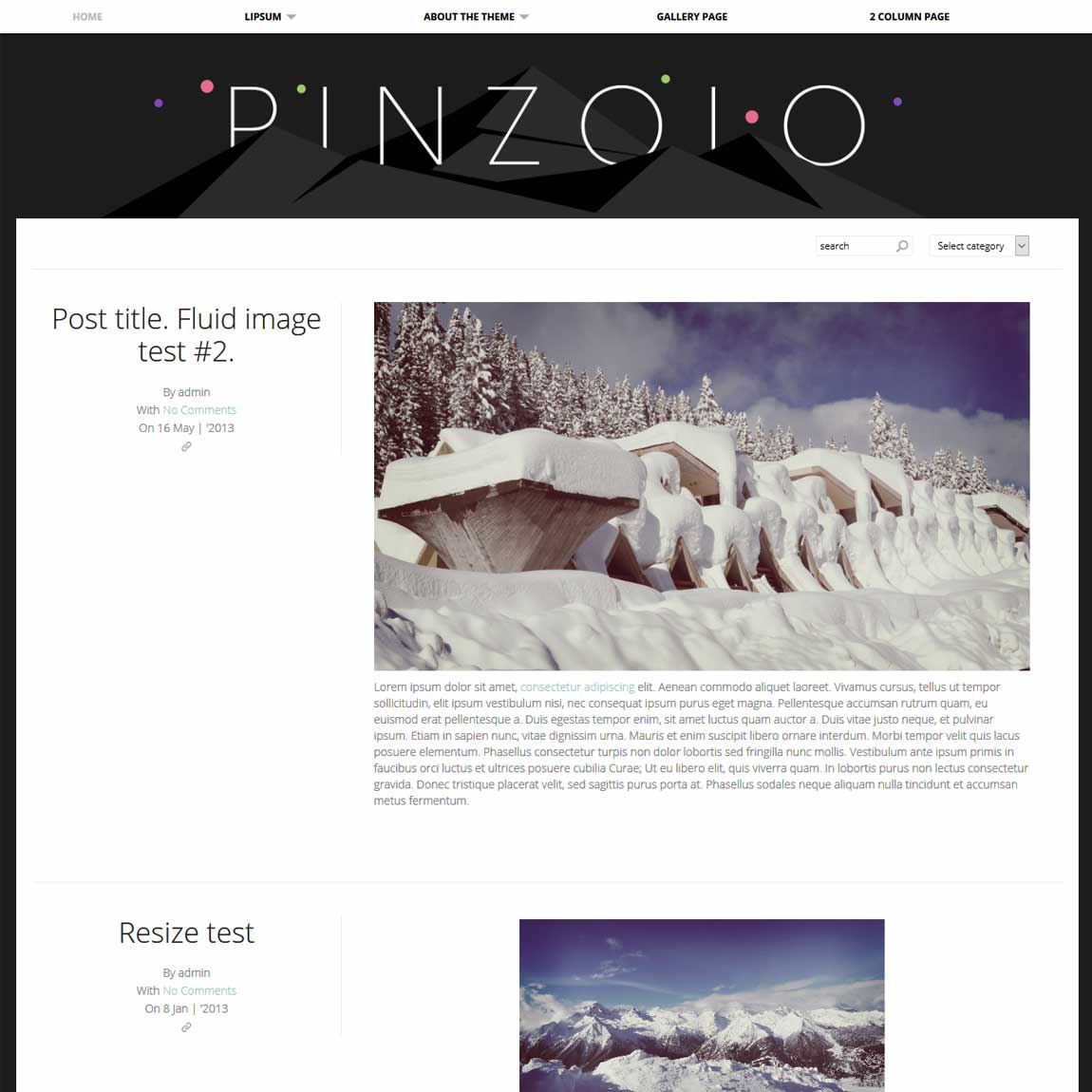 pinzolo-free-minimal-wordpress-templates