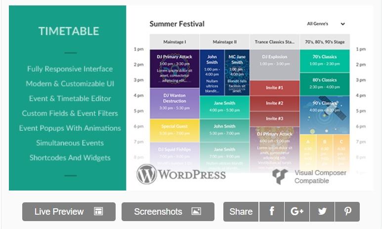 responsive-timetable-wordpress-calendar-plugin