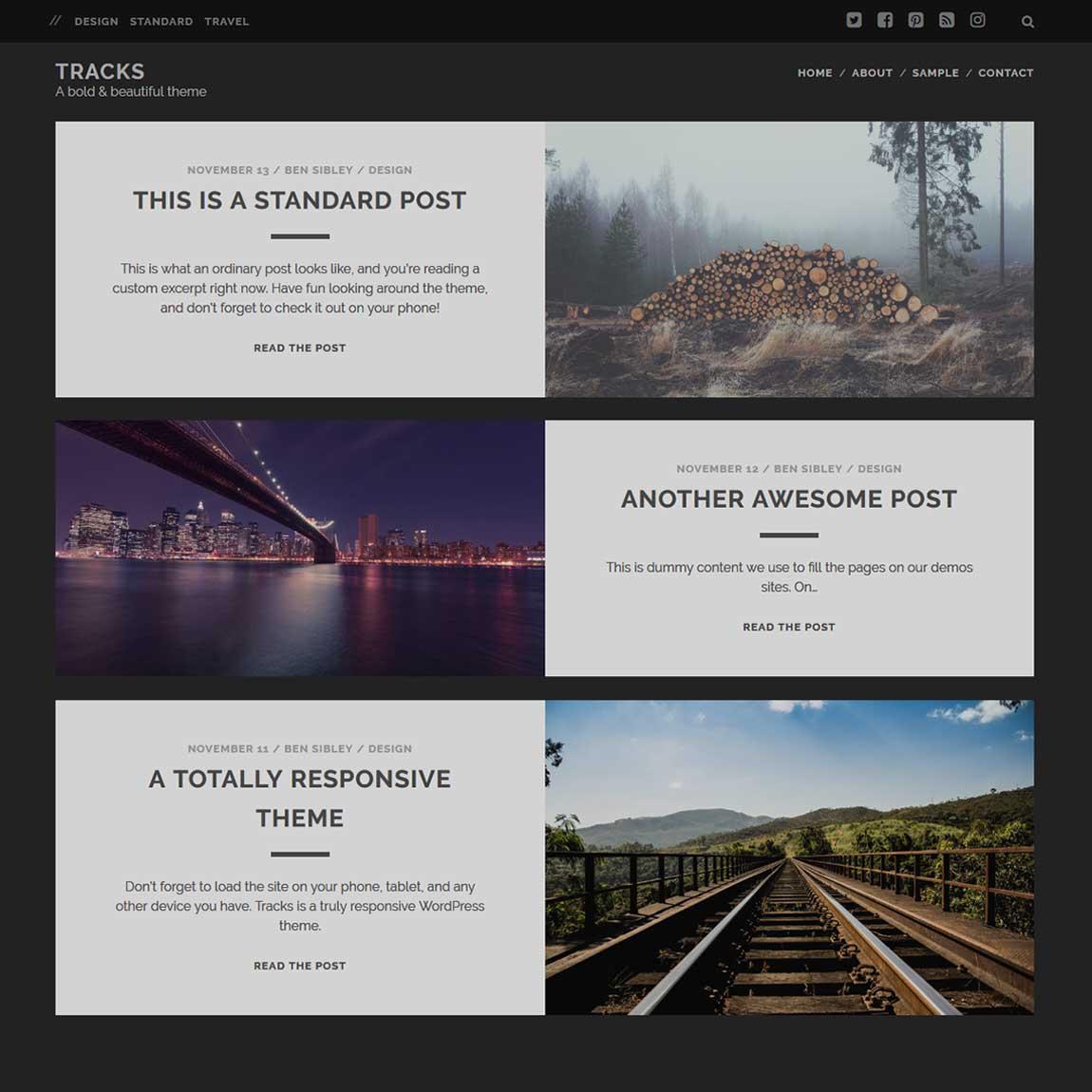 tracks-free-minimal-wordpress-themes