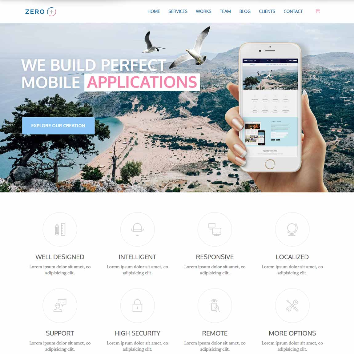 zero-bootstrap-wordpress-theme