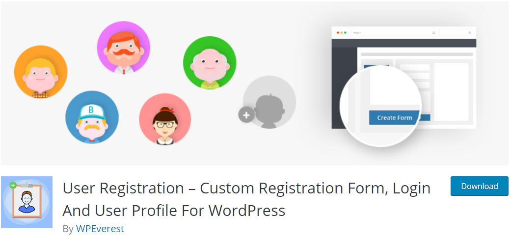 User Registration Plugin