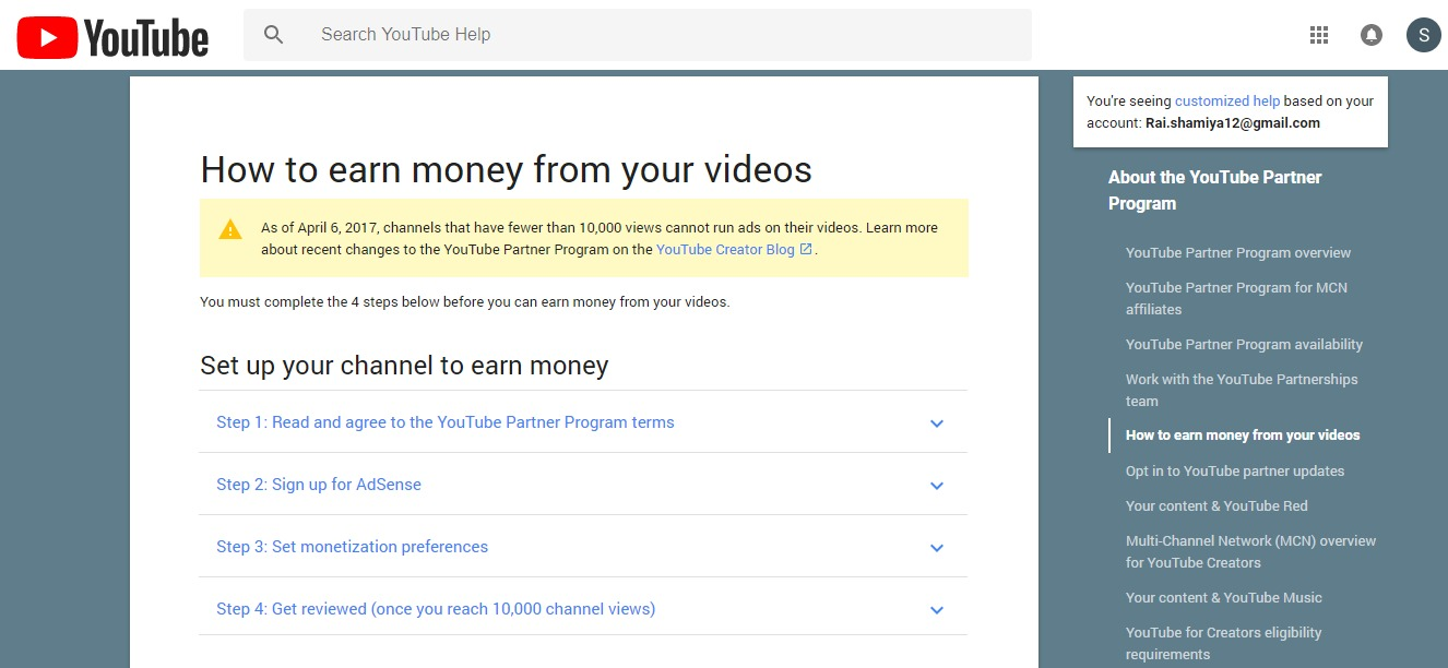 Youtube-monetization-option