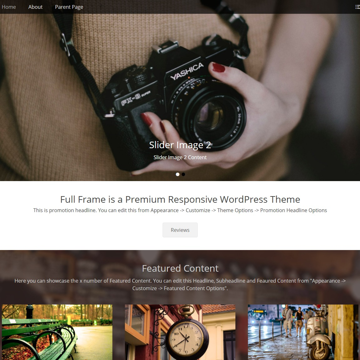 full-frame-customizable-wp-theme