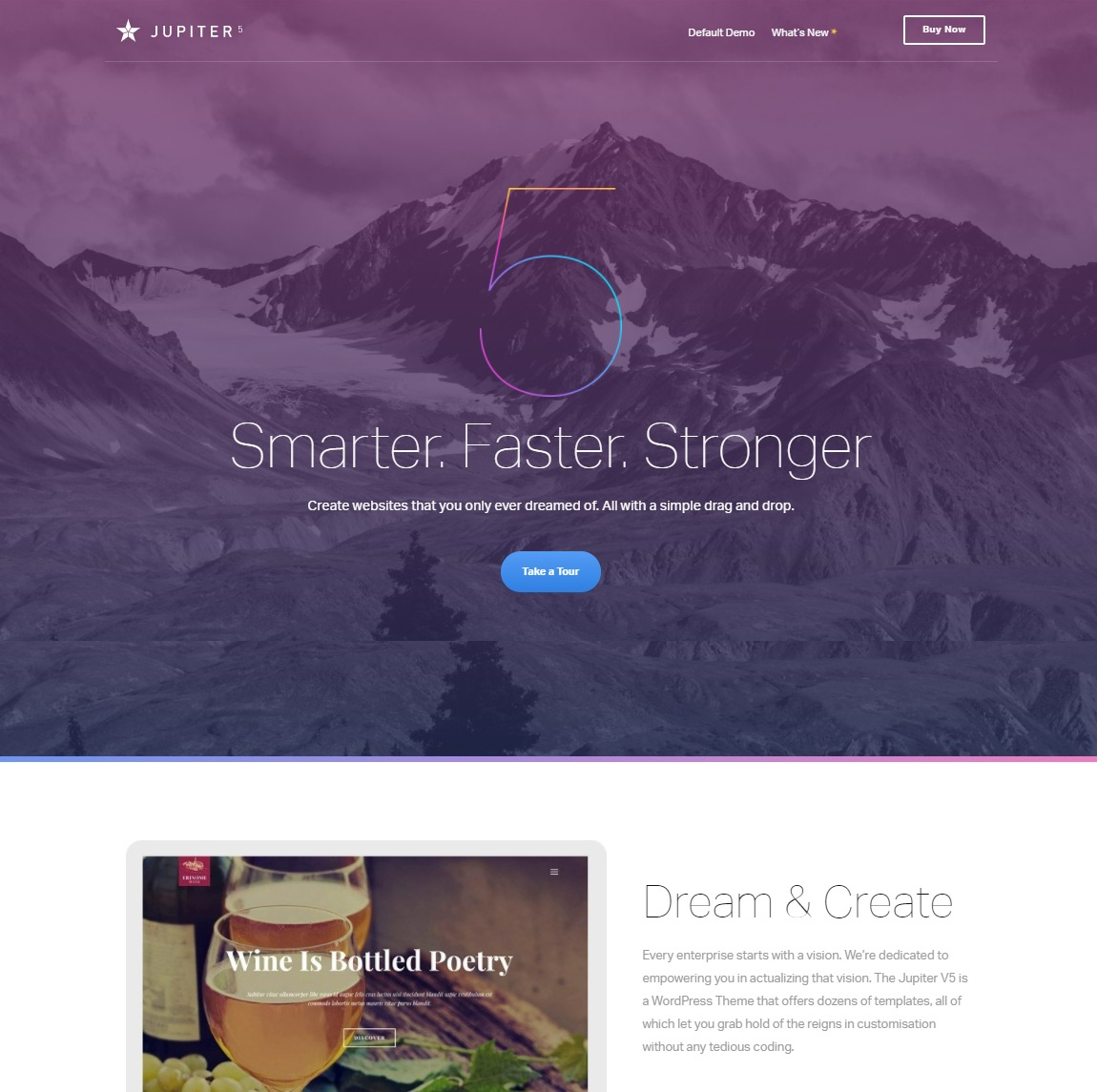 jupiter-customizable-wp-theme