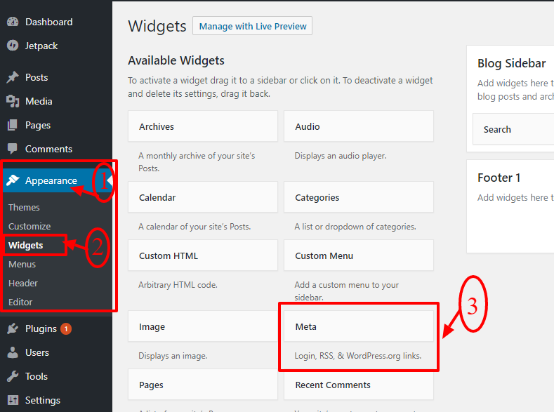 meta-widget-wordpress