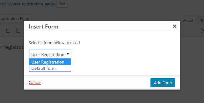 select-and-add-form-User-Registration