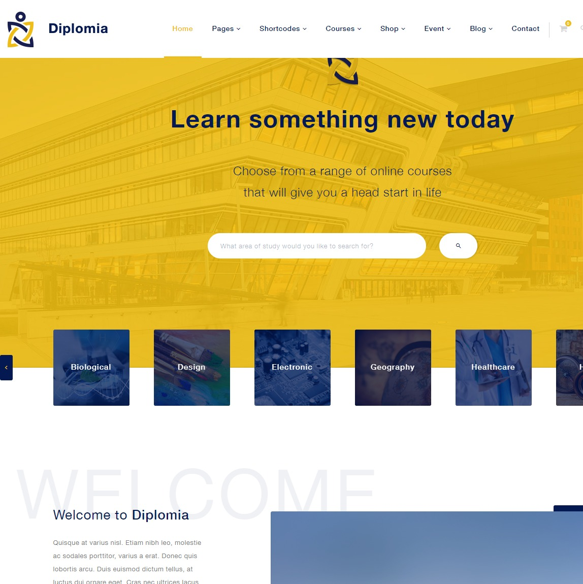 Diplomia-wordpress-template