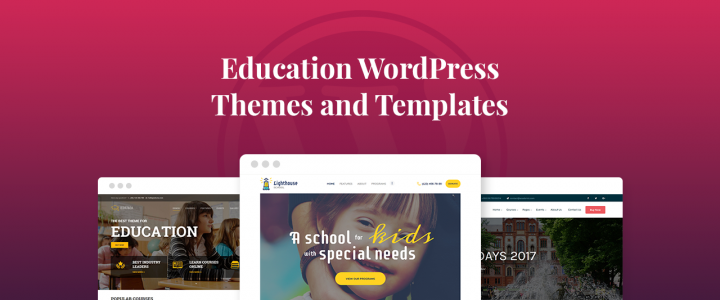 17+ Best  Education WordPress Themes and Templates for 2019