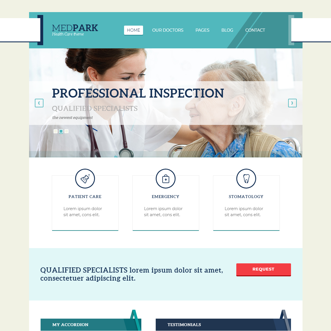 Medpark-WordPress-education-templates
