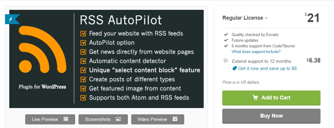 RSS AutoPilot-wordpress-plugin