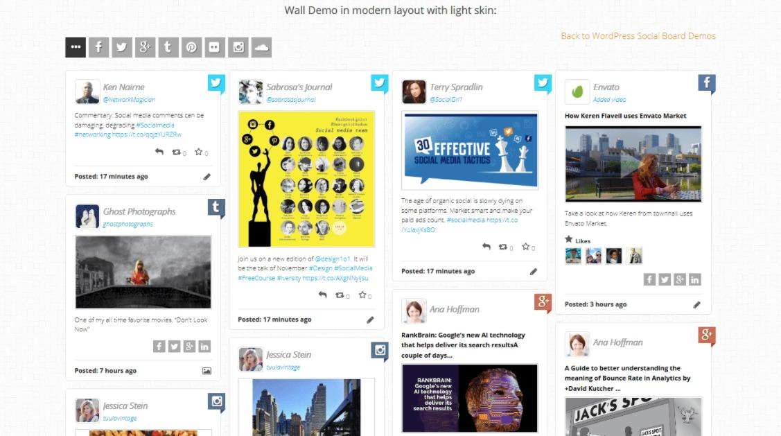WordPress-social-board-screenshot