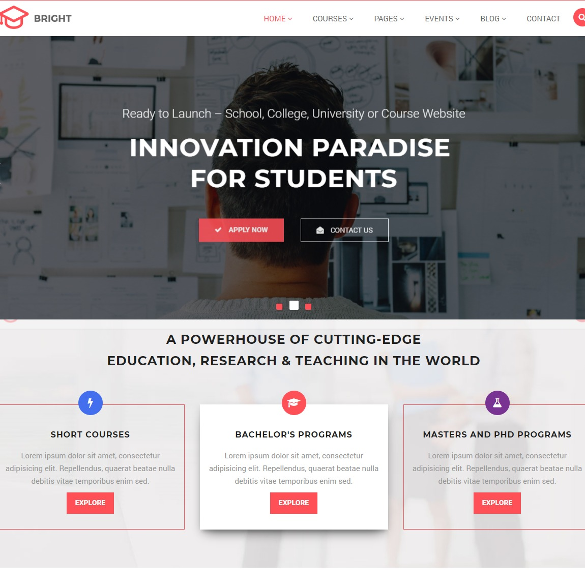 bright-education-wordpress-template