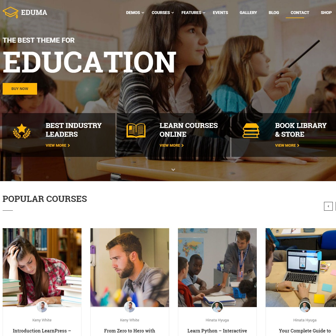 17 best education wordpress themes and templates for 2018