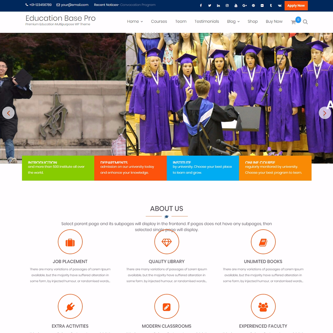 education-base-WordPress-education-templates