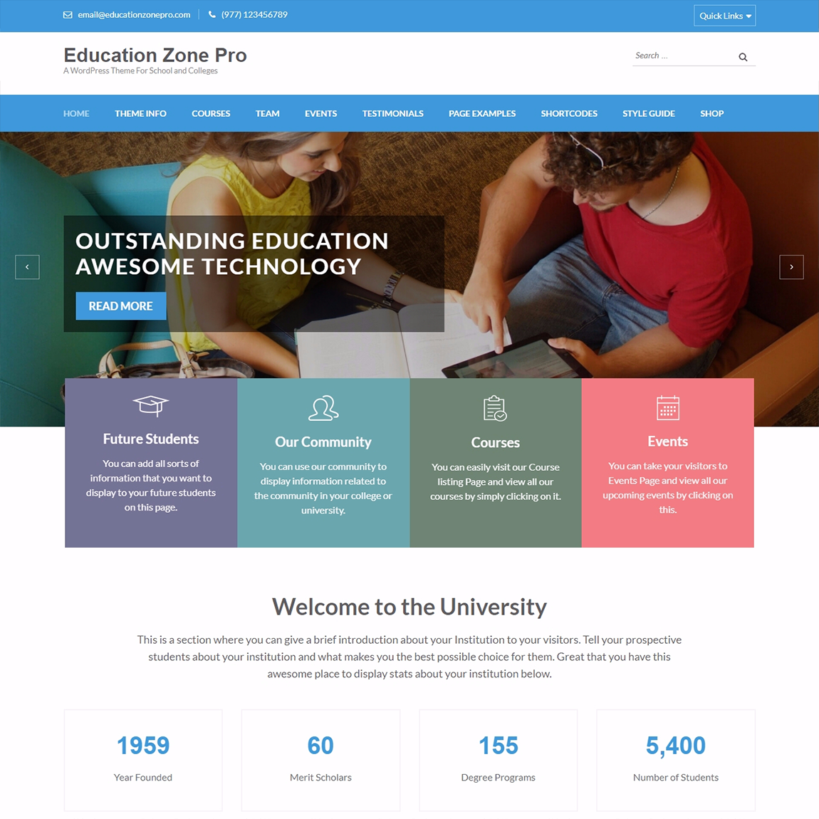 education-zone-WordPress-education-themes