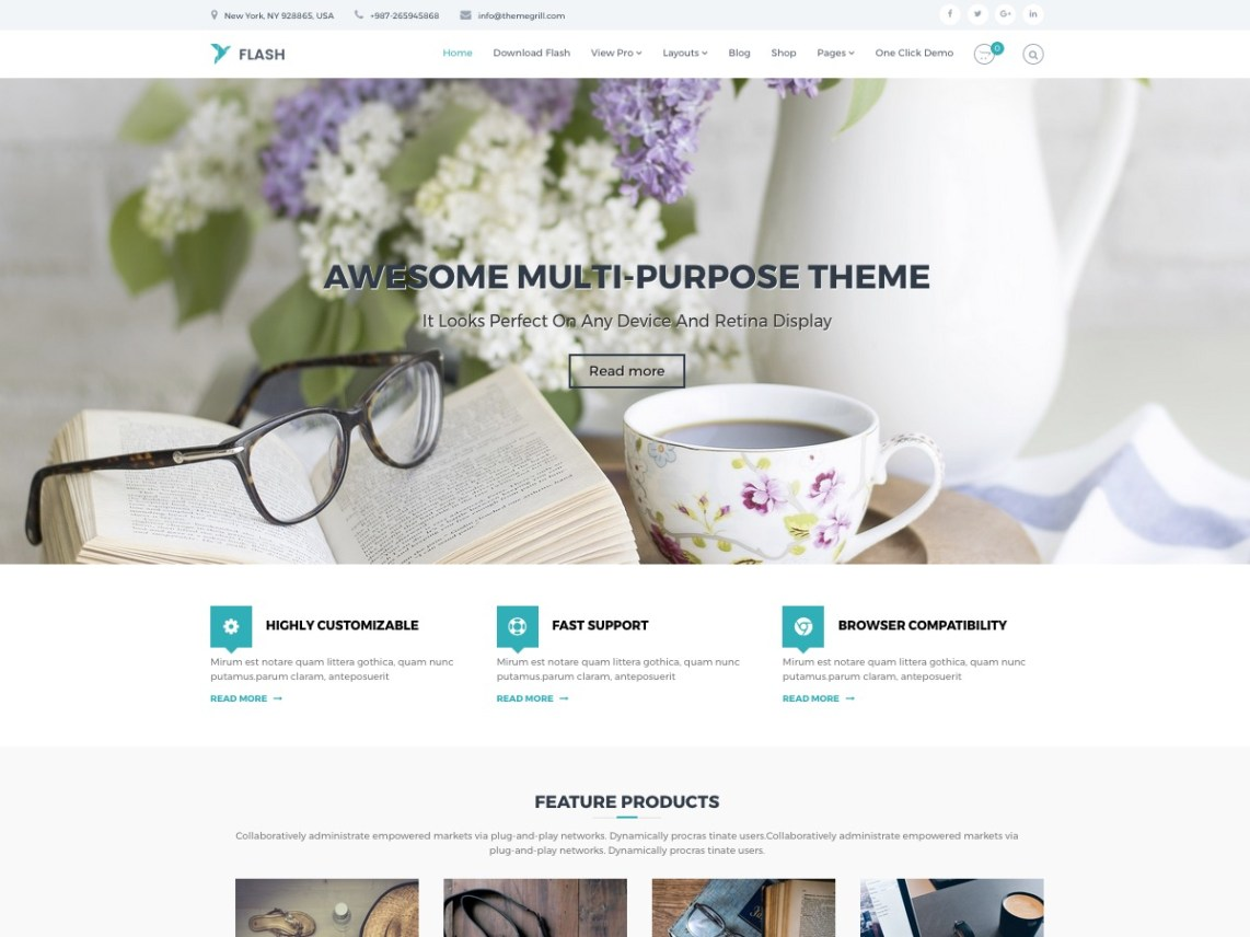 flash-free-wordpress-theme