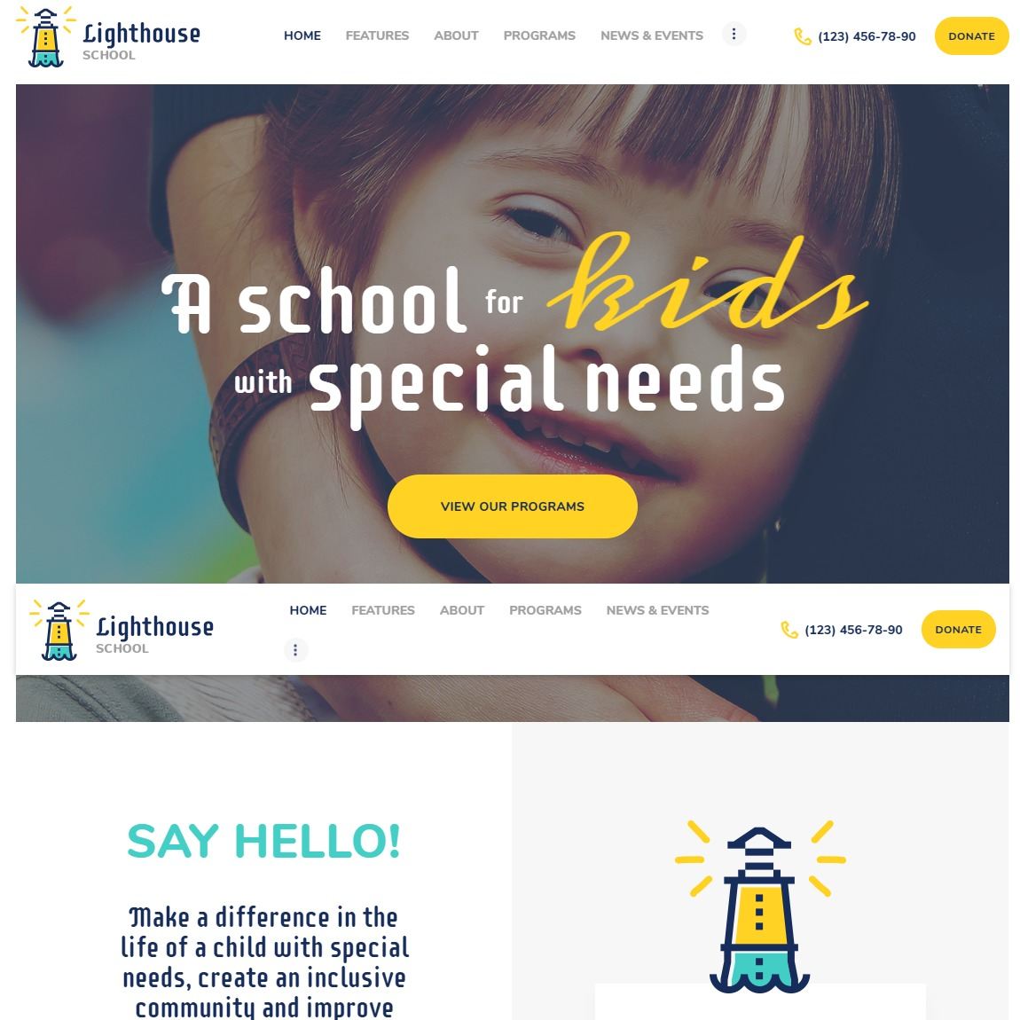 lighthouse-education-wordpress-template