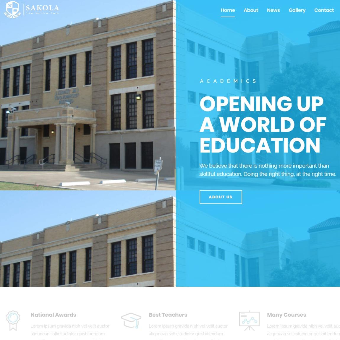sakola-education-WordPress-themes
