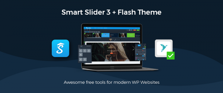 How to Create Responsive WordPress Slider FREE with Smart Slider 3 (Tested with free version of Flash Theme)