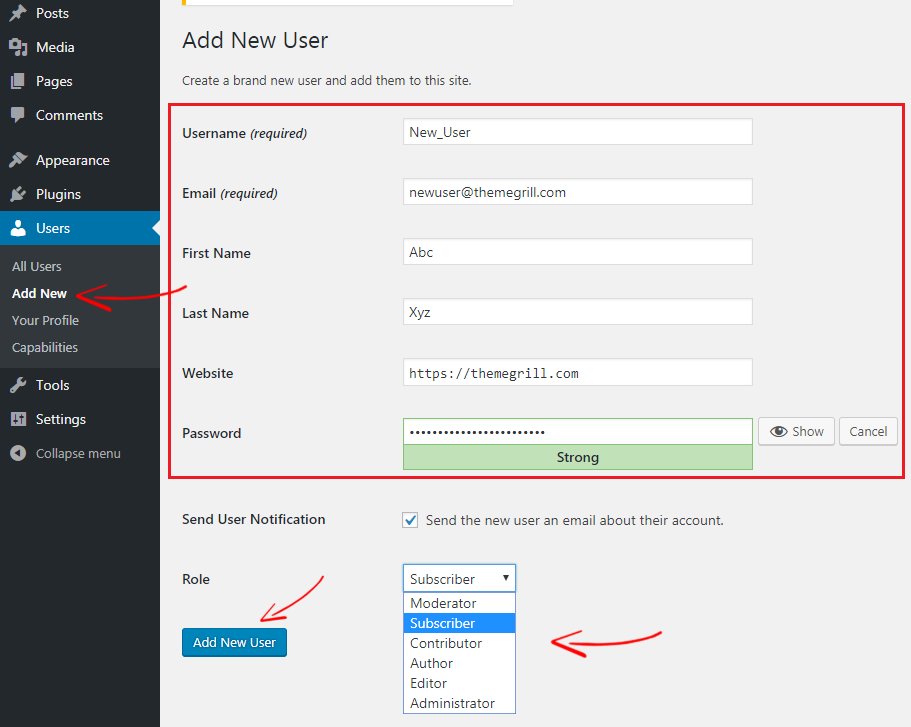 Create-New-wordpress-User-Roles