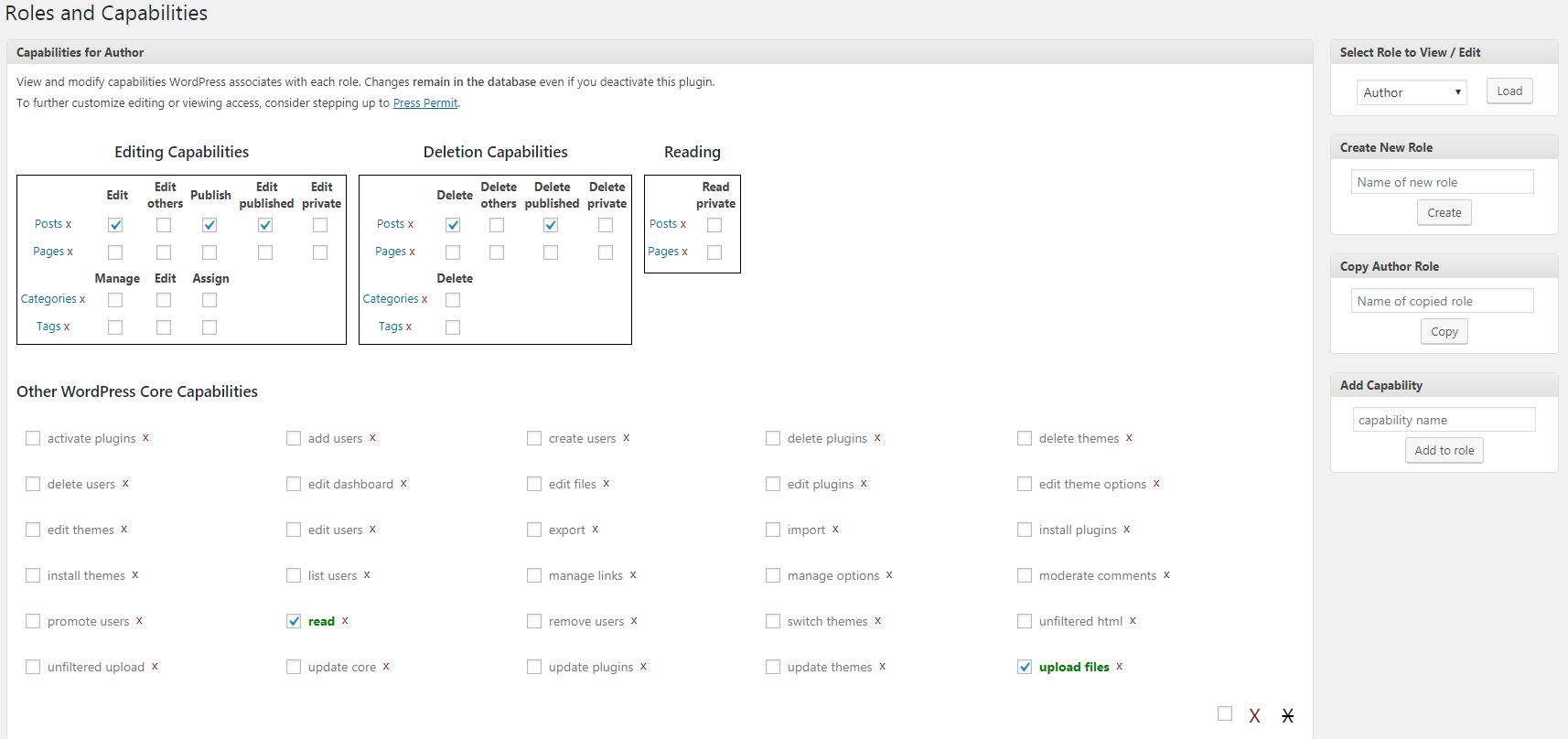 Customize-User's-Roles-wordpress