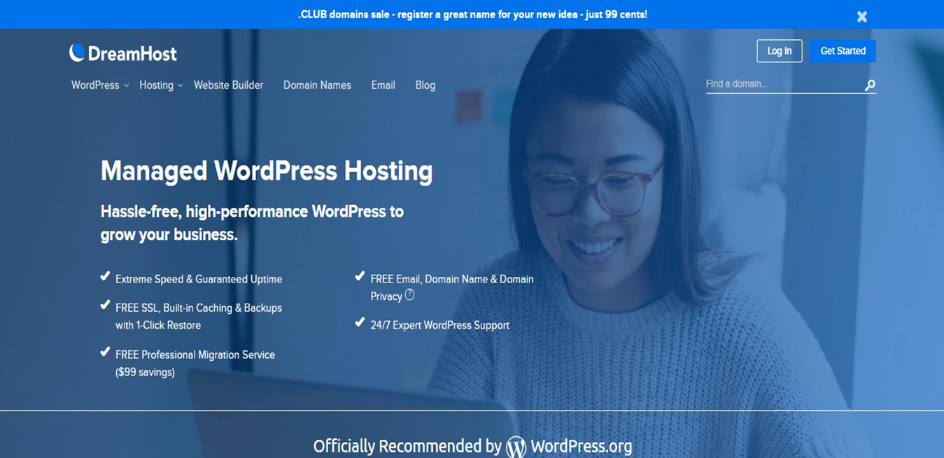 Managed WordPress Hosting DreamHost