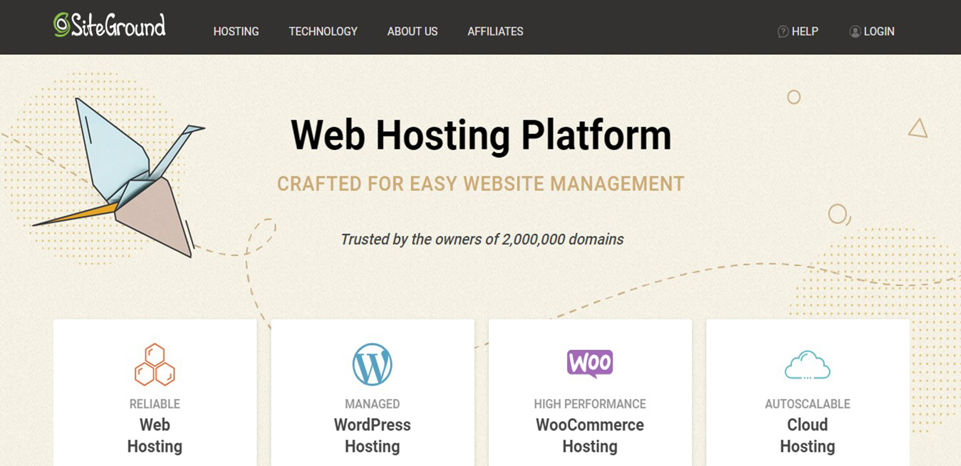 Managed WordPress Hosting SiteGround