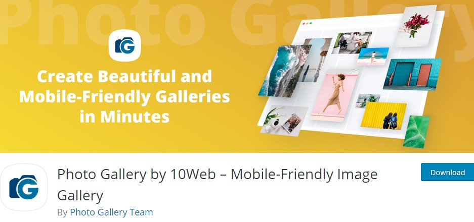 Photo Gallery by 10Web – Mobile-Friendly Image Gallery – WordPress Image Gallery plugin