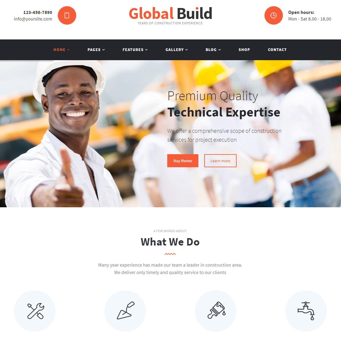global-Build-WordPress-construction-theme