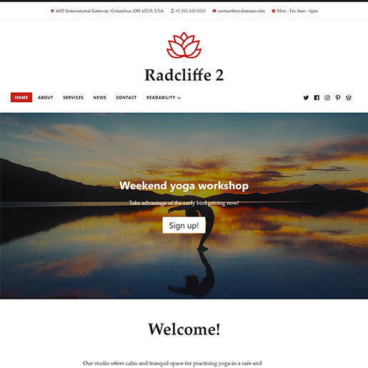 radcliffe2-wordpress.com-theme