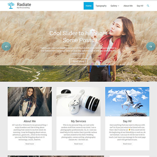 radiate-best-wordpress-theme-for-blogging