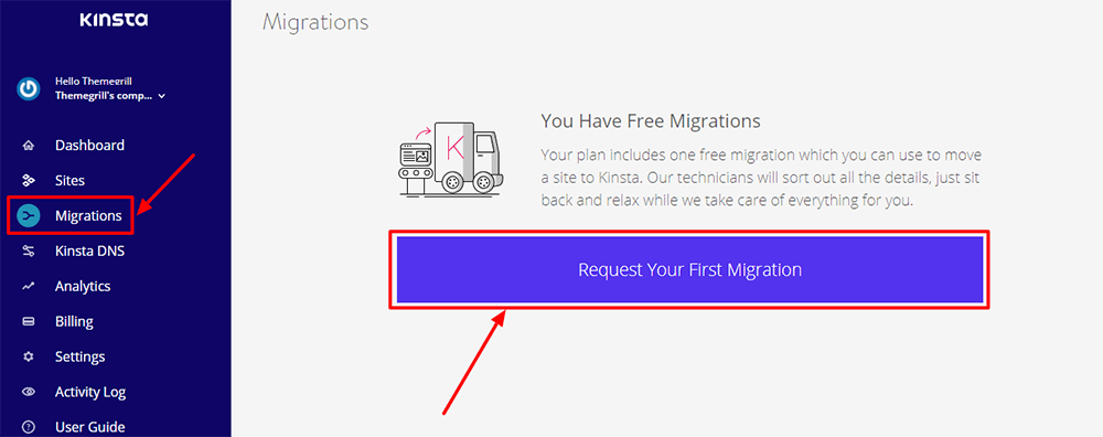 request-migration-kinsta-hosting