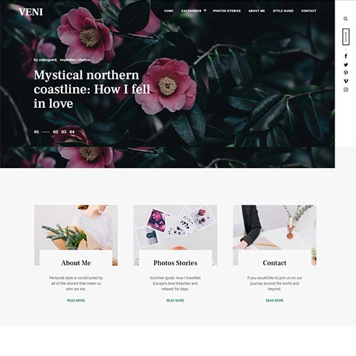 veni-wordpress-theme