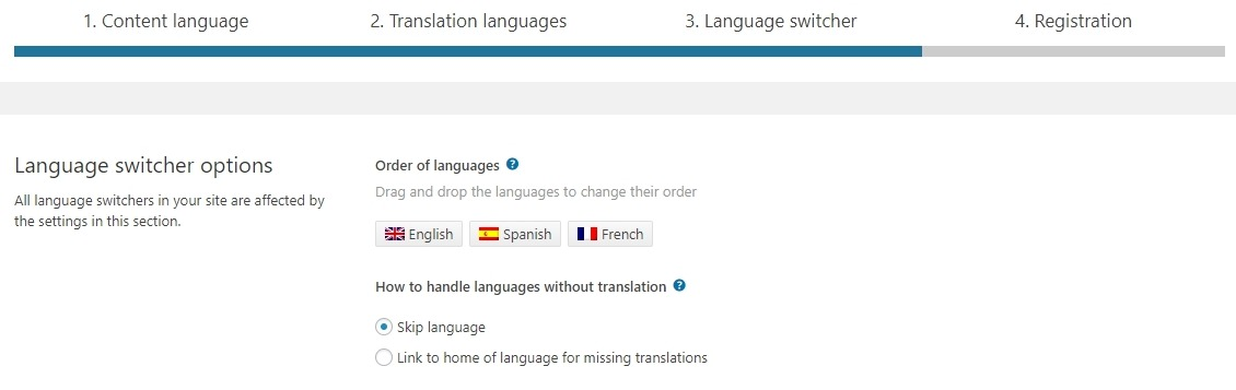 WP-multilingual