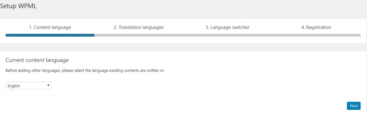 WordPress-multilingual