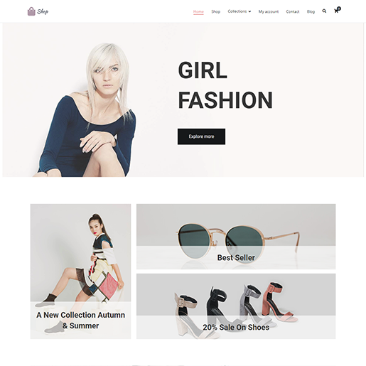 Zakra Shop WordPress Themes
