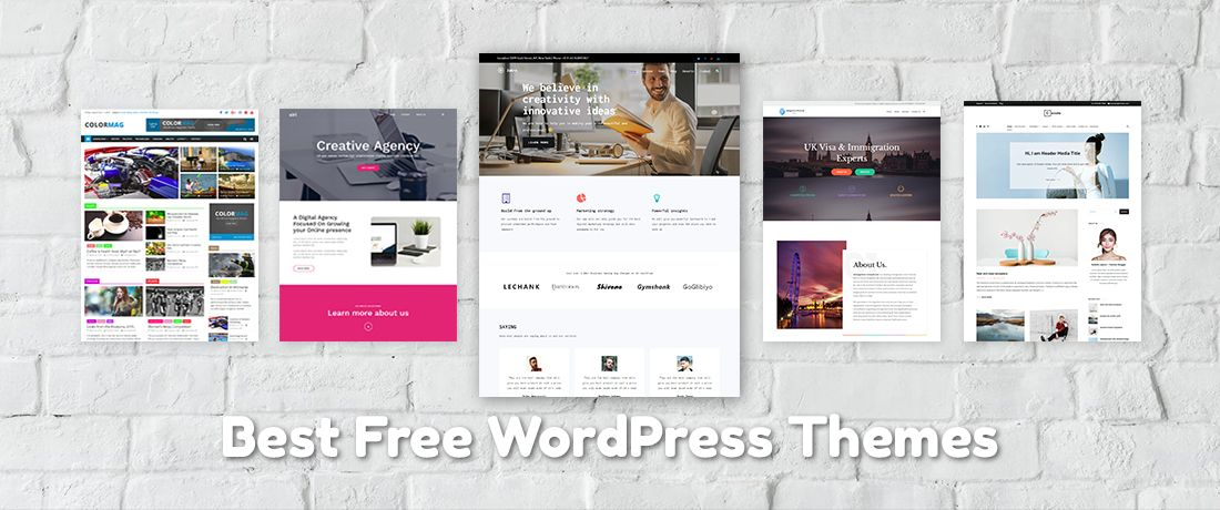 best free responsive wordpress themes for bloggers