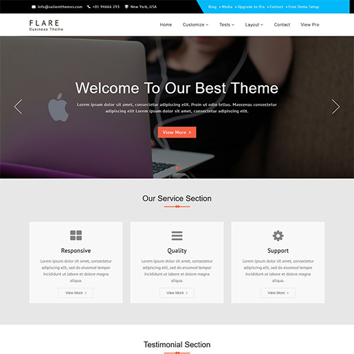 flare-free-responsive-wordpress-theme