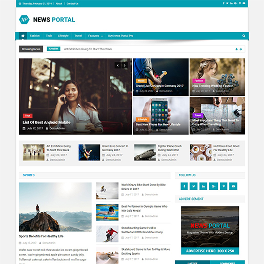 news-portal-responsive-free-wordpress-themes